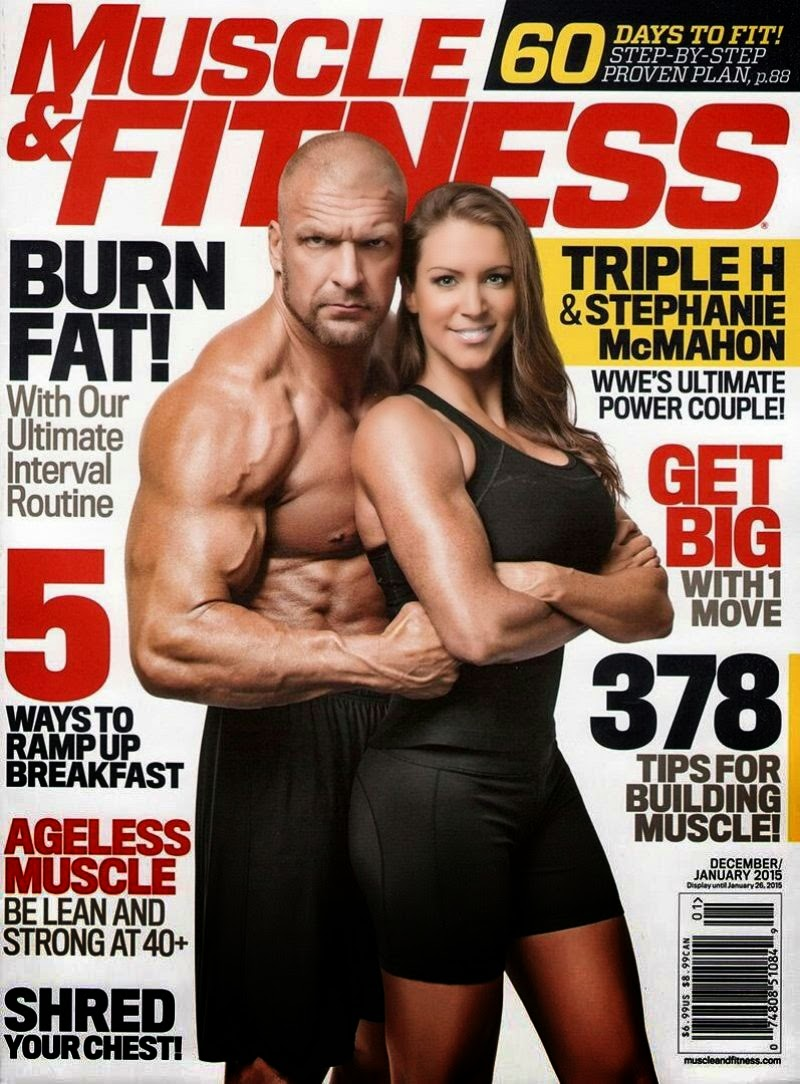Stephanie McMahon – Muscle & Fitness Magazine – December 2014/January 2015
