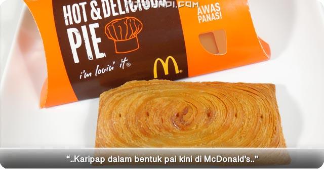 Ulasan Karipap Pie McDonalds