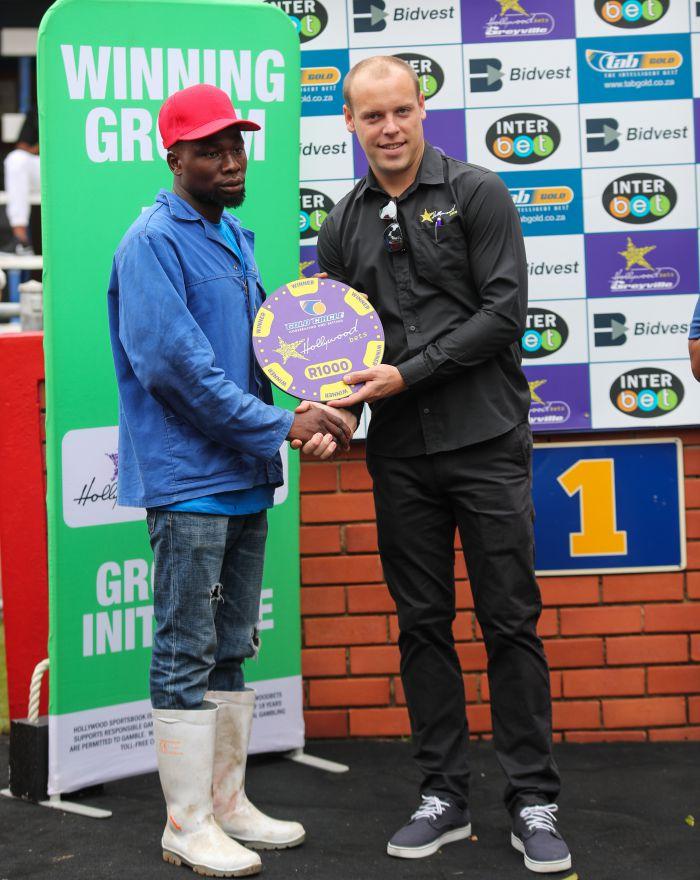 Grooms Initiative Winner - 26th December 2019 - Race 5 - Fernando - CITY ROCK