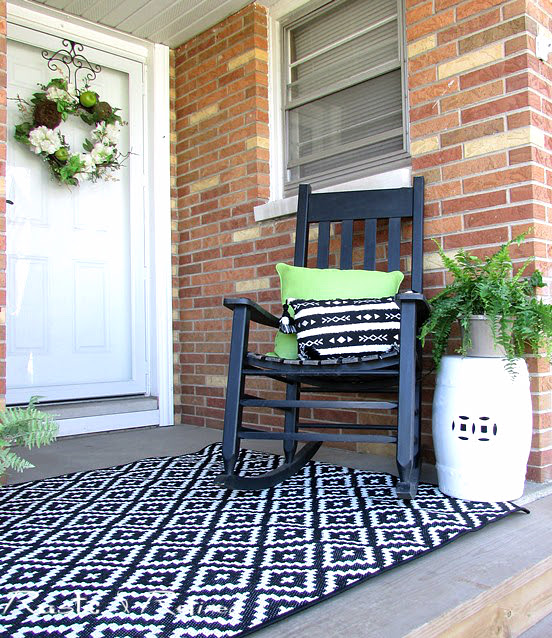 Spring decor for the patio or porch