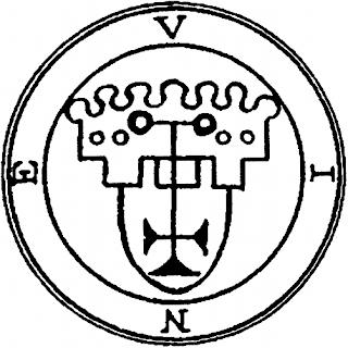 Goetia spirit Vine's seal