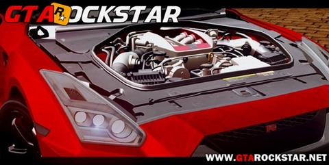 GTA SA - Nissan GTR 2017 em HD