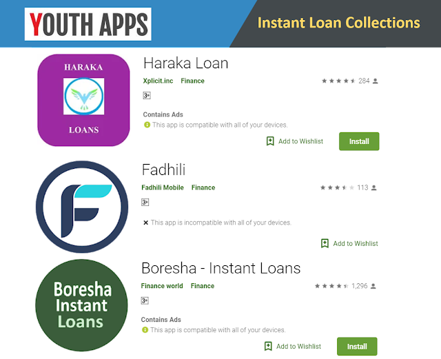 Top 3 Latest Instant Loan Mobile App for Kenya Citizens