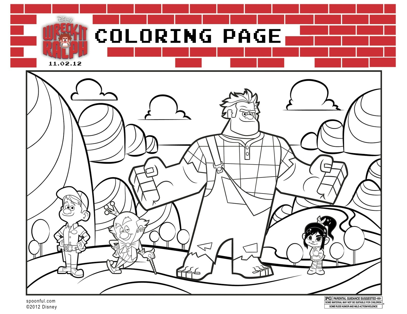 orange county mom blog wreckitralph coloring sheets