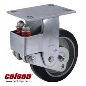 Bánh xe đẩy có lò xo giảm xóc Colson chịu lực 350kg | SB-6508-648 banhxepu.net
