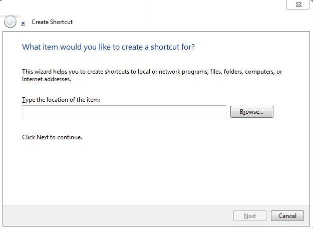 Make Shortcut For Your Important Filesam Info System