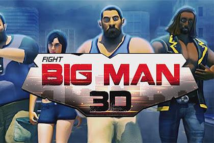 Download Hunk Big Man 3D: Fighting Game v1.4 Mod Apk (Unlimited Money) Full HD Terbaru