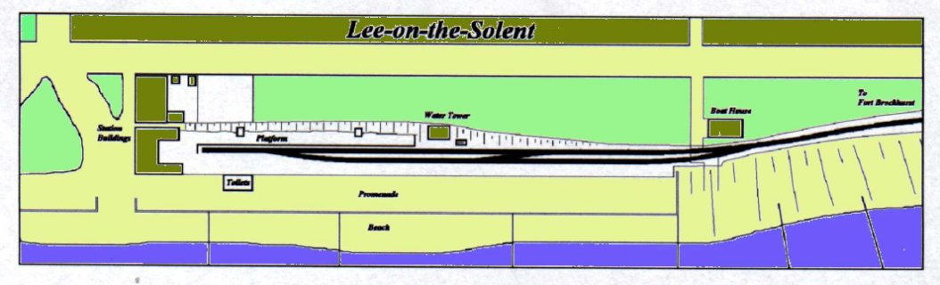 Plan of Lee Station