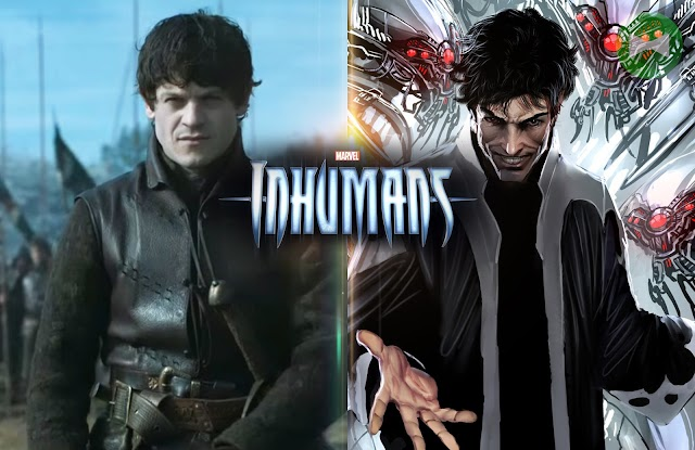 'Ramsay Bolton' on board Inhumans TV series