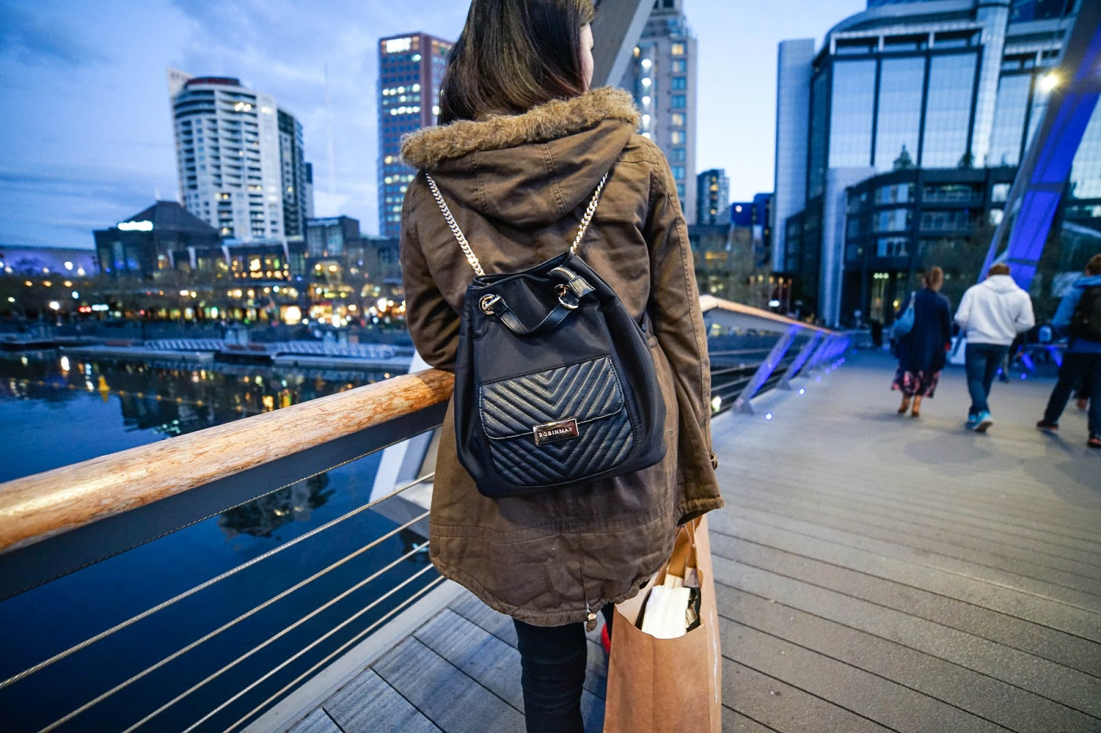 【女生後背包】台灣品牌「Robinmay」雅典娜時尚後背包出國去