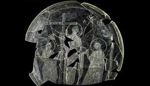 imagen de Jesús sin barba del siglo IV