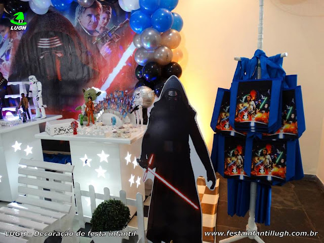 Star Wars provençal - Mesa decorada Star Wars - festa infantil