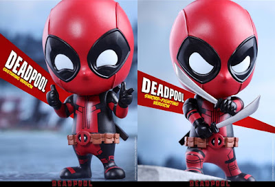 Deadpool Cosbaby Vinyl Figure Bobble Head Series by Hot Toys