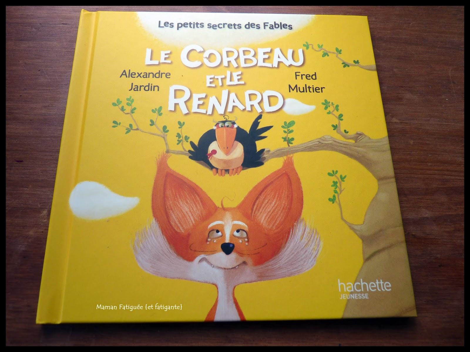 Le Corbeau et le Renard les Fables de La Fontaine en dessin animé
