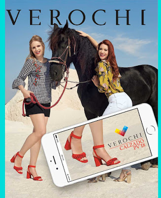 Catalogo de calzado verochi 2018 damas Primavera verano