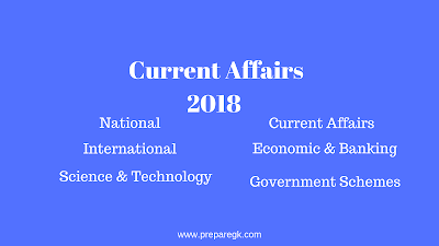 Current Affairs October-2018