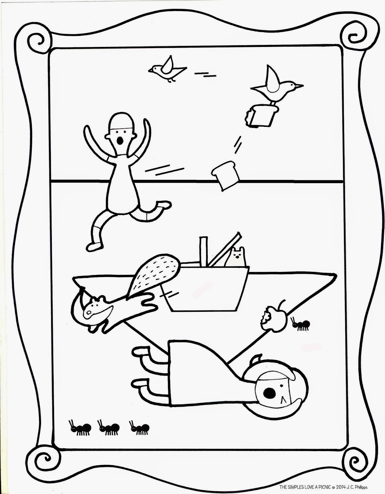 Ninja Woman: The Simples Love Coloring Pages