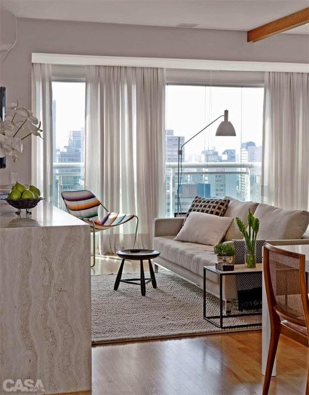 Clara castilho apartamento pequeno for Decoration de petit appartement