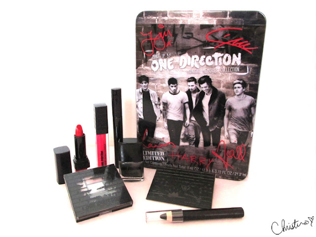 Makeup by One Direction Collection Review Midnight Memories