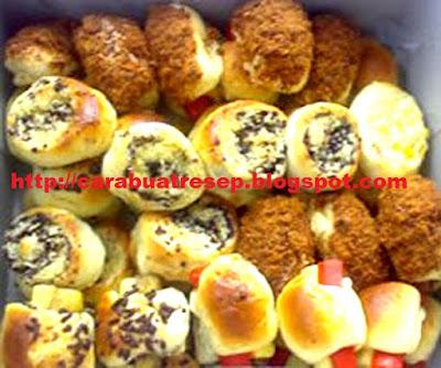 Foto Resep Roti Unyil Sederhana Lembut dan Empuk Aneka Rasa dan isi Ala Venus Bakery Oleh-oleh Khas Bogor
