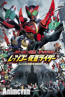 OOO Den-O All Riders: Lets Go Kamen Riders -  2013 Poster