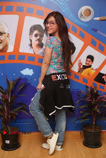 Telugu Actress Angela Stills in Ripped Jeans Angela Stills At Radio City For Rogue Promotions  0013.jpg