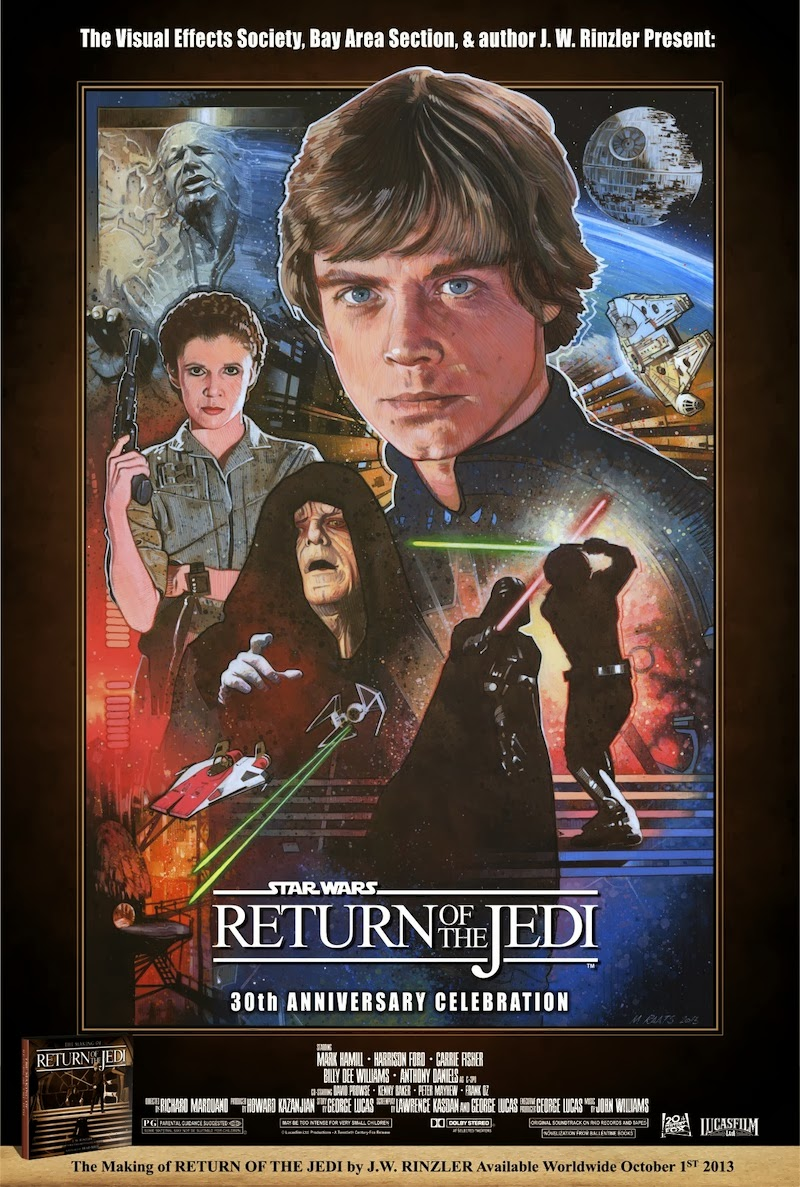 Return Of The Jedi Movie Poster Original