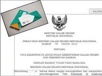 Download Buku Pedoaman Aturan Penulisan Nomor Indeks Surat Dinas