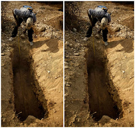 29-year-old man dies while digging grave of elderly woman in Ebonyi. Photo