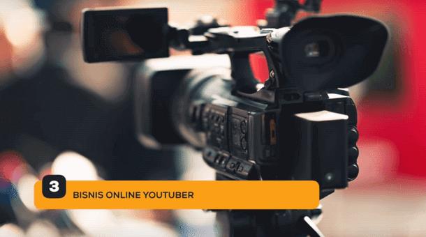 3. Bisnis Online Youtuber