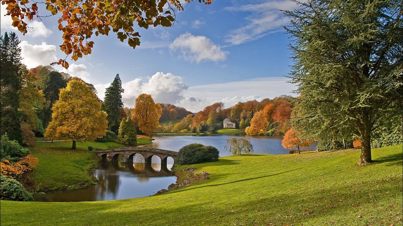 Beautiful Bridge And Water Wallpapers