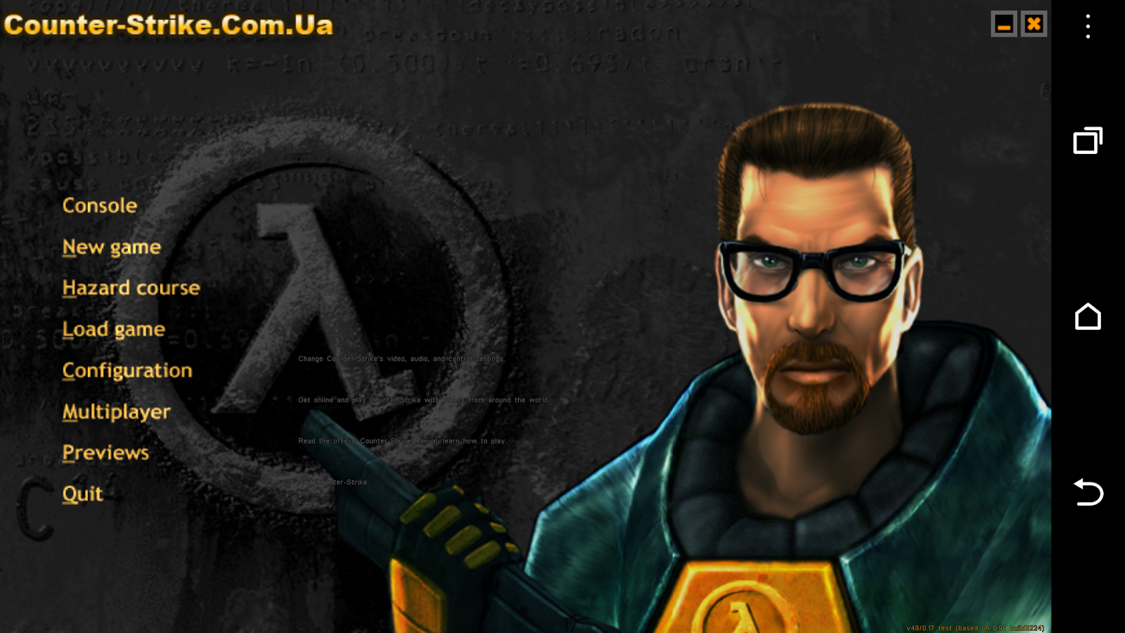 How to play Half Life 9