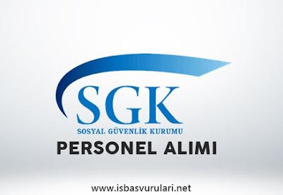 SGK personel alımı