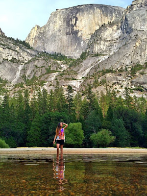 Mirror Lake Yosemite, Yosemite National Park, Vivian Lee, Miss Happy Feet