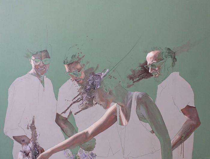 Движение внутри картины. Jessica Rimondi