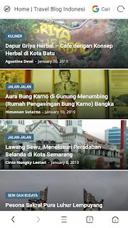 Daftar artikel