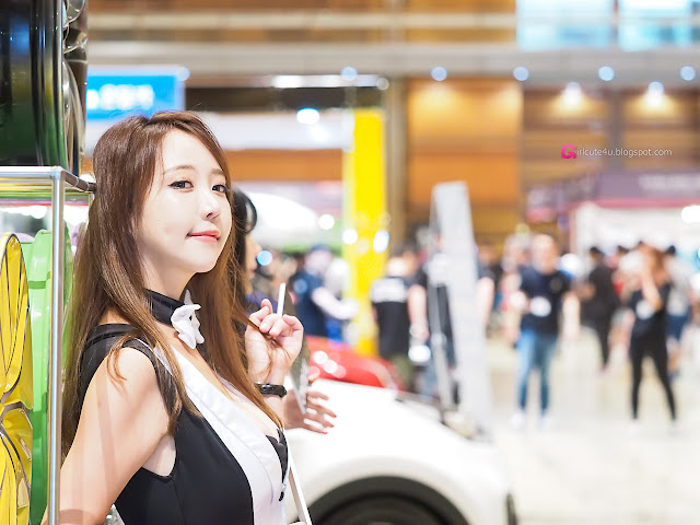 1 Song Da Mi - Seoul Auto Salon - very cute asian girl-girlcute4u.blogspot.com