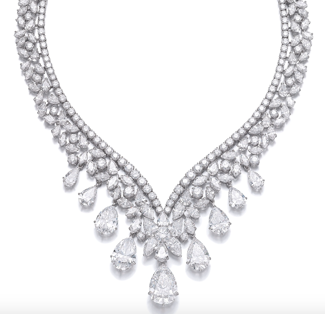 Magnificent Diamond Solitaire Necklace Sold for ₹ 46.5 Crores!