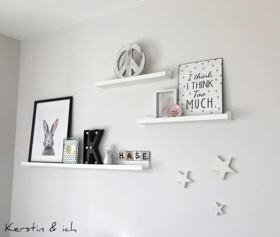 Bilderleiste Deko Wohnen Wohnzimmer Ostern Hase