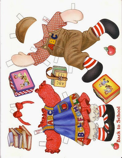 Raggedy Ann And Raggedy Andy - Coloring Home | 512x396