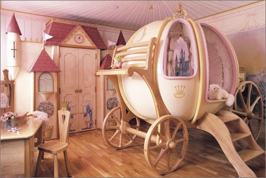 Hopskoch: Cinderella Bedroom By Mark Wilkinson