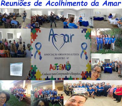 REUNIÕES DE ACOLHIMENTO DA AMAR
