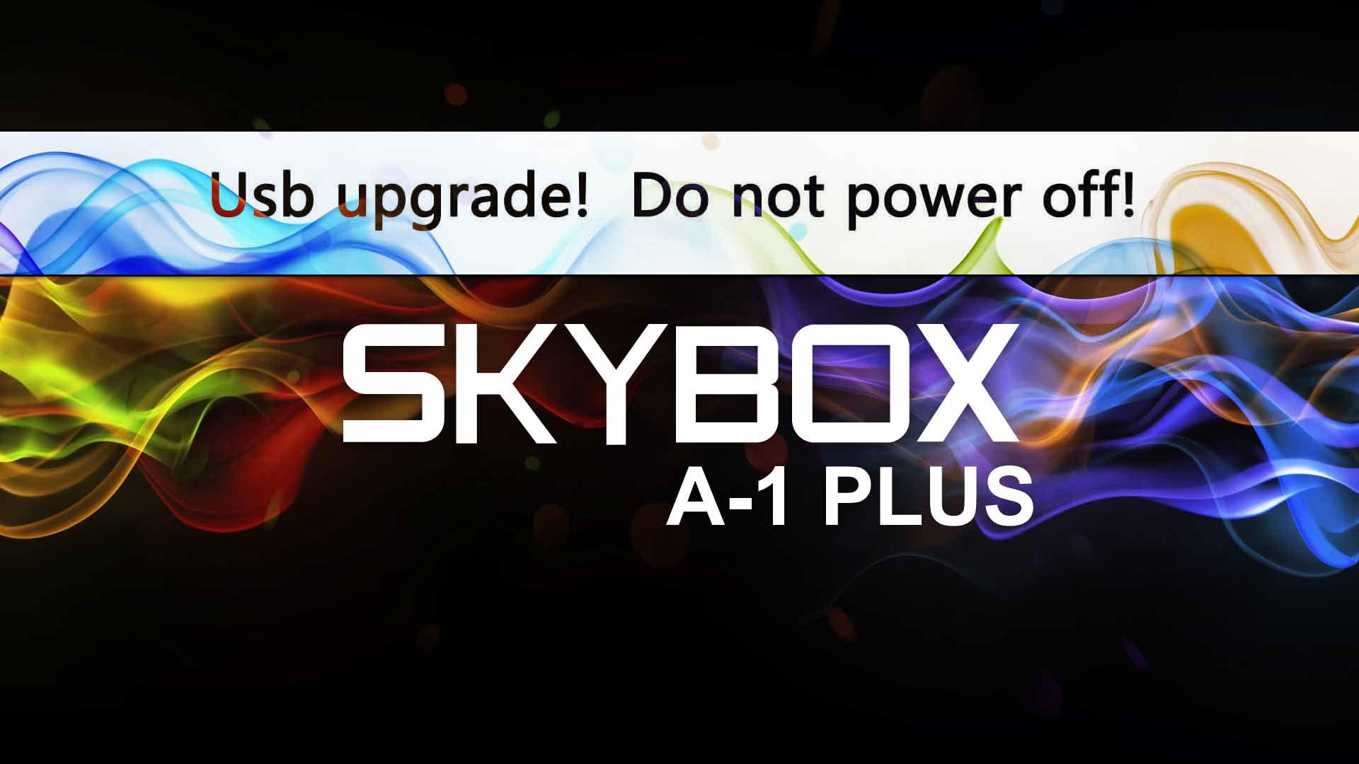 Cara USB Recovery Receiver Skybox A1 Plus