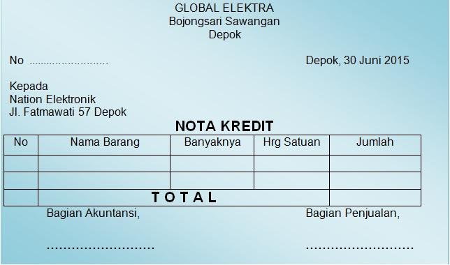 Bukti Transaksi Administrasi Transaksi