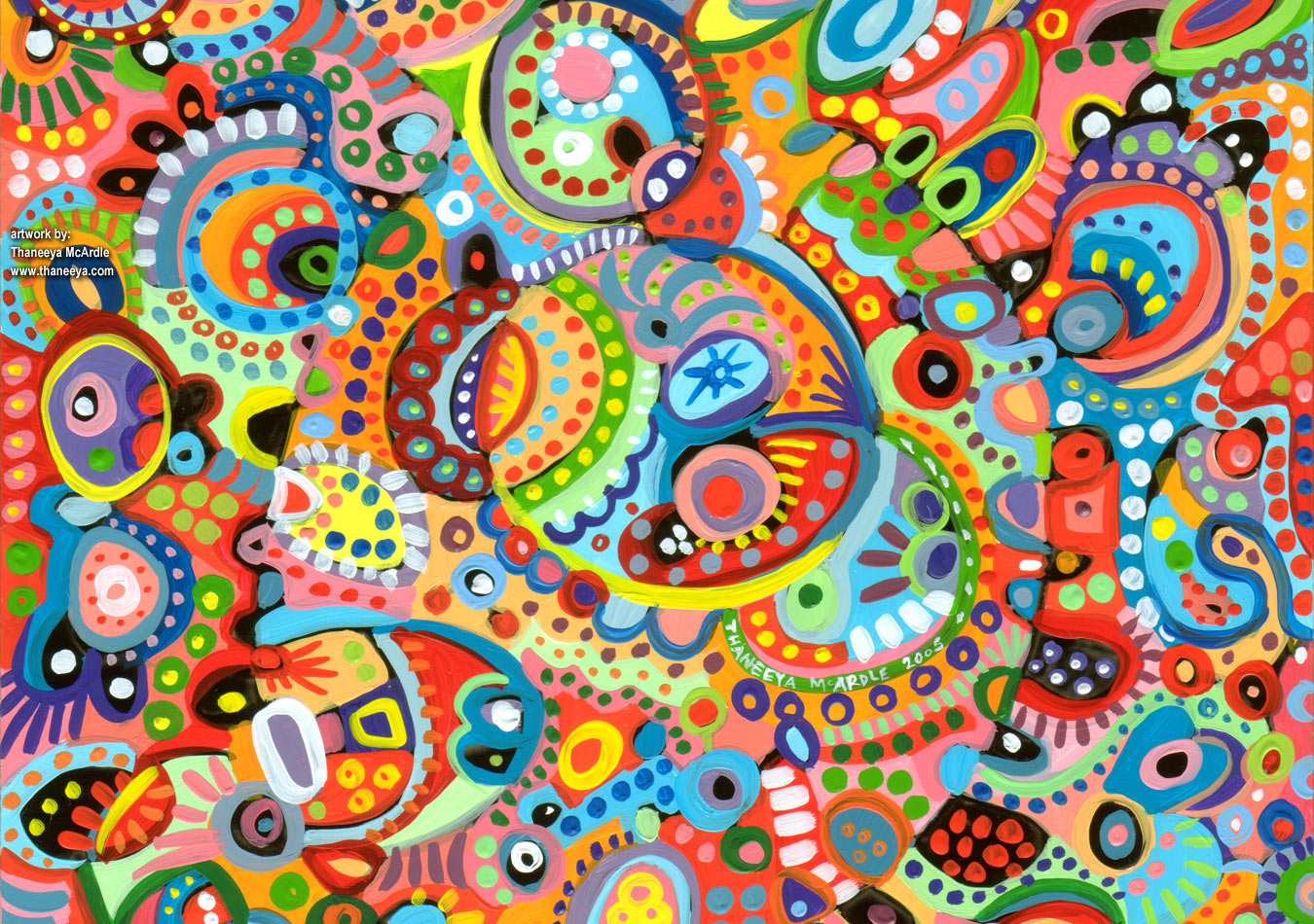 abstract funky pattern wallpaper - photo #32