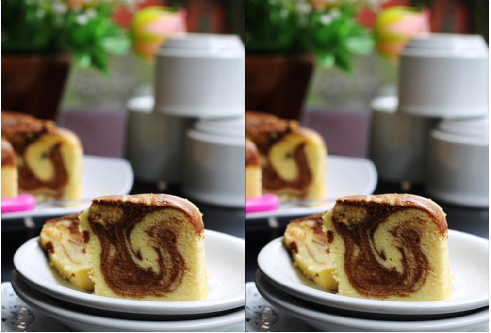 Resep Cake Jadul Sederhana: Resep Dan Cara Membuat Marmer Cake Jadul Super Lembut