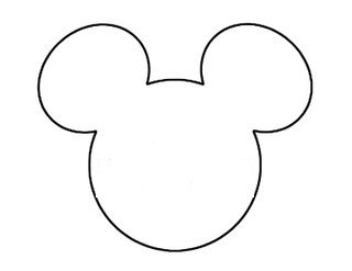 mickey mouse head shape template diy mickey string art this fairy tale life