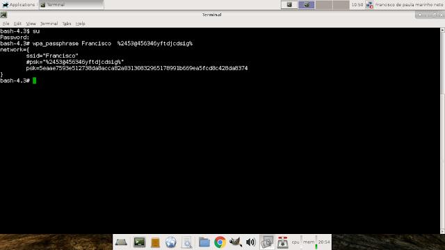 Linux: Como conectar a uma rede wifi pelo terminal