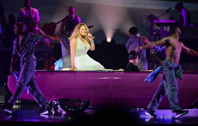 Show residente Mariah Carey em Las Vegas