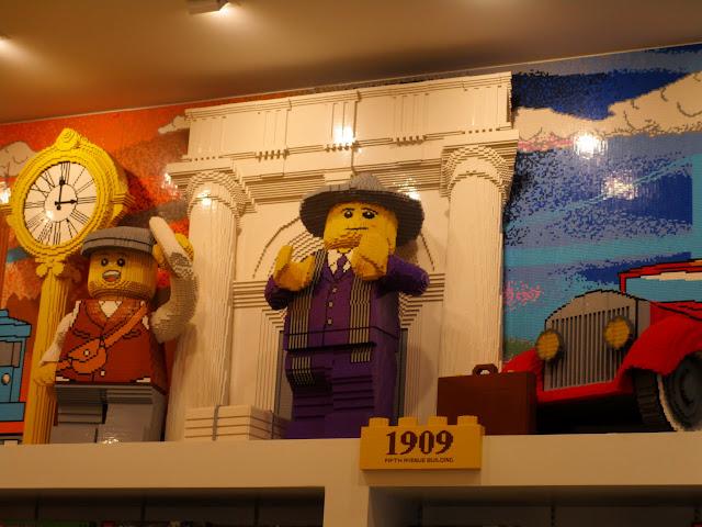 Скульптуры из Лего, Нью-Йорк